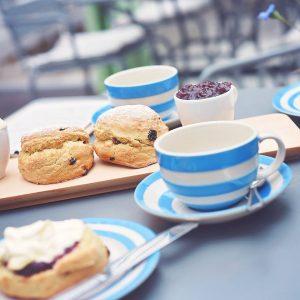 Cream scones and jam Emsworth