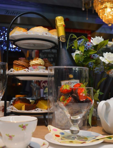 Tea and scones Chichester West Sussex