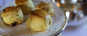 Freshly baked scones Eastbourne, East Sussex the south coast of England
