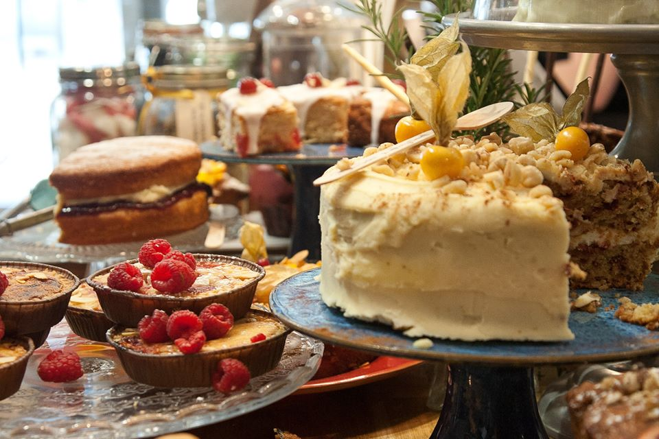 Best tea rooms in Somerset the south of England